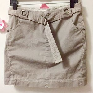 Athleta Nude Skirt (4) L-16 1/2 WL-15 1/2flat